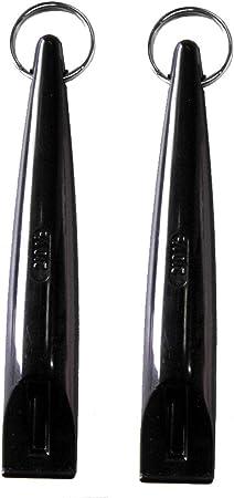 Acme Dog Whistle 210.5 Black (2 Pack)