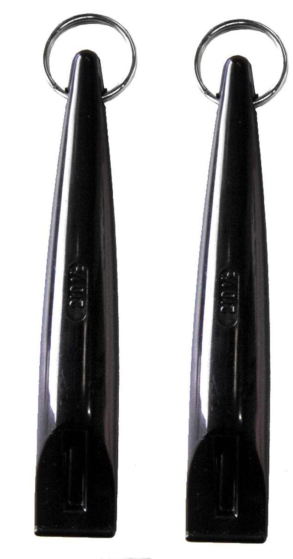 2 Pack Acme Dog Whistle 210.5 Black