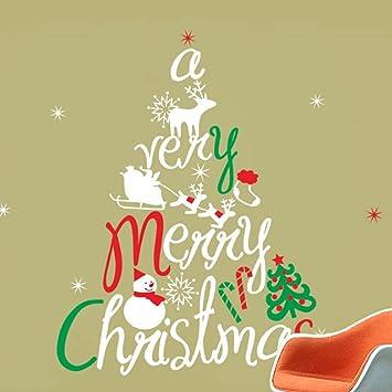 Amazon.com: Shiningup 3D Funny Mouse Hole Cat Christmas Tree Snow ...