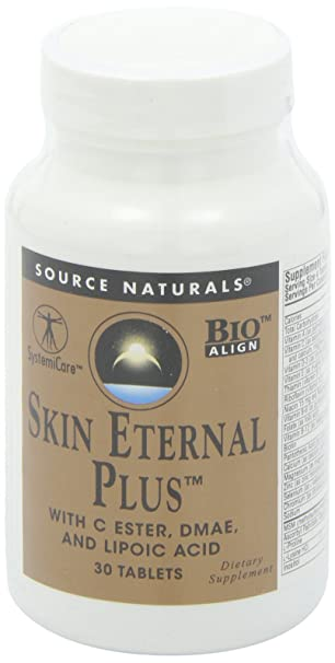 Source Naturals Skin Eternal Plus, 30 Tablets by Source Naturals: Amazon.es: Salud y cuidado personal