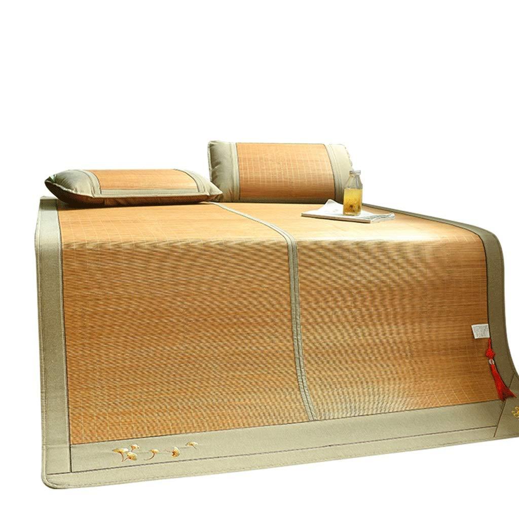 DUAN GUO FENG DGF Bambusmatte Faltbare Doppelseitige Haus-Schlafzimmer-Matte