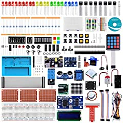 Upgraded Ultimate Starter Kit is designed for most of lasted raspberry pi models, compatible with raspberry pi 4B / 3B+ / 3B / 3A+ / 2B / 1B+ / 1A+ / Zero W / Zero. We also provide a detailed and easy-to-understand tutorials with 22 projects ...