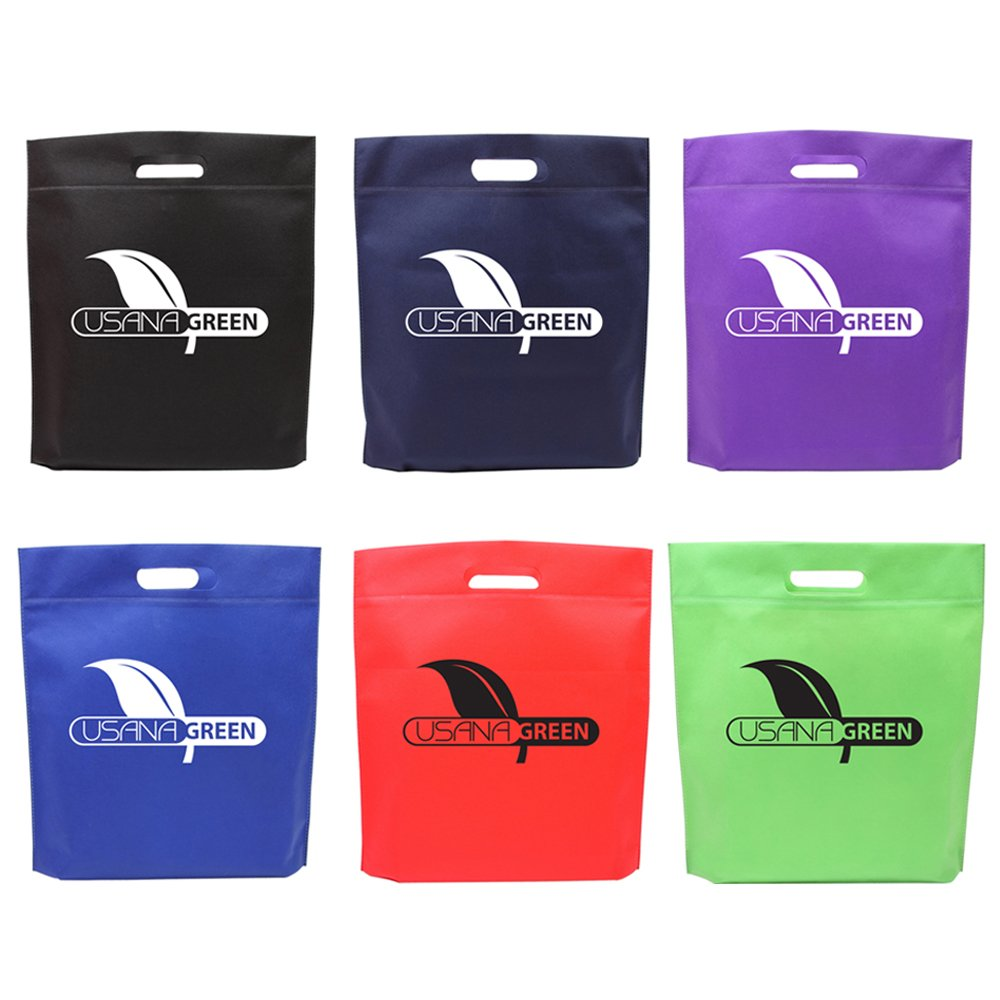 Die Cut Handle Tradeshow Tote - 150 Quantity - $1.60 Each - PROMOTIONAL PRODUCT / BULK / BRANDED with YOUR LOGO / CUSTOMIZED by Sunrise Identity (Image #4)
