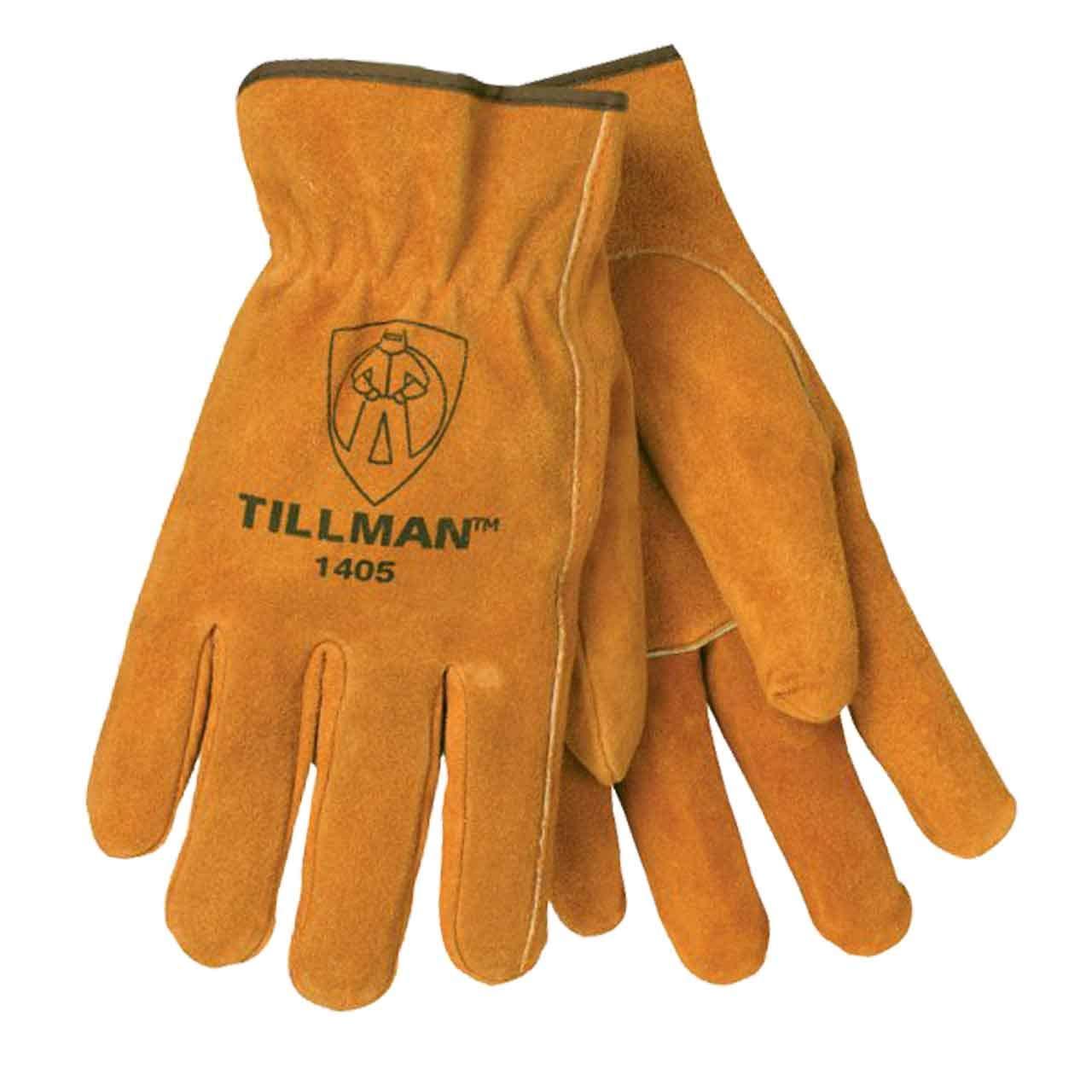 TILLMAN 1405S DRIVERS GLOVES Small Split Cowhide