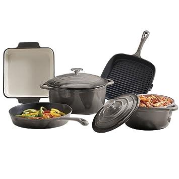 Cooks Professional Deluxe Hierro Fundido utensilios de cocina ...