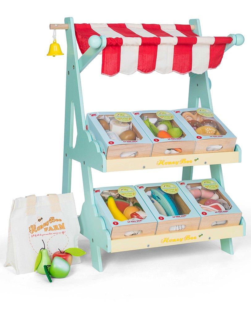 Le Toy Van TV185 Jouets en Bois-Œufs et Produits Laitiers