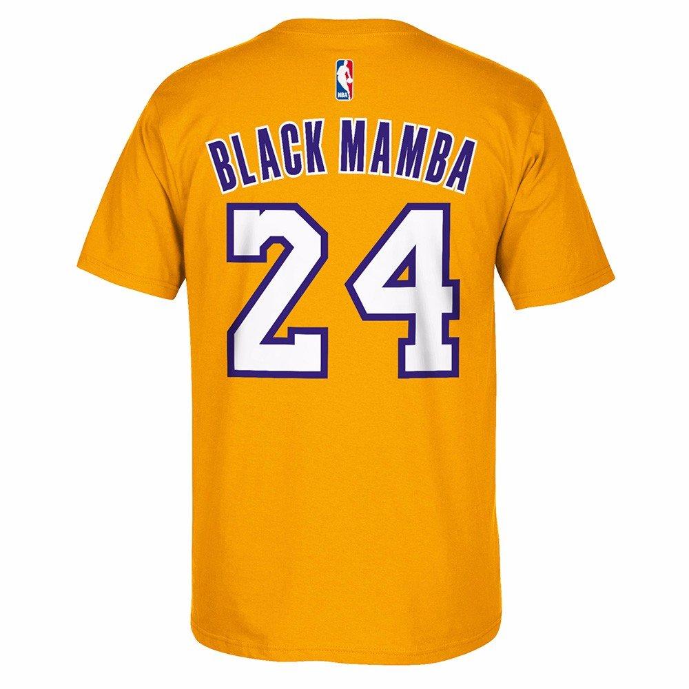 Black Mamba t shirt limited edition kobe bryant los angeles lakers collectible