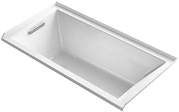 KOHLER K 1121 L 0 Underscore 60u0026quot; X 30u0026quot; Alcove Bath