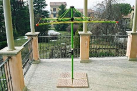 Stendino da giardino fai da te gimi ring stendibiancheria da balcone stendino da esterno - Stendibiancheria da giardino ...