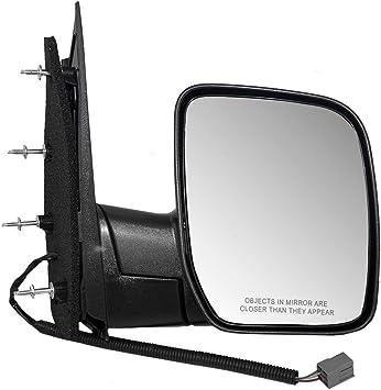 for 2008 2010 Ford Econoline Van Passenger Mirror Manual Sail Type Single Glass