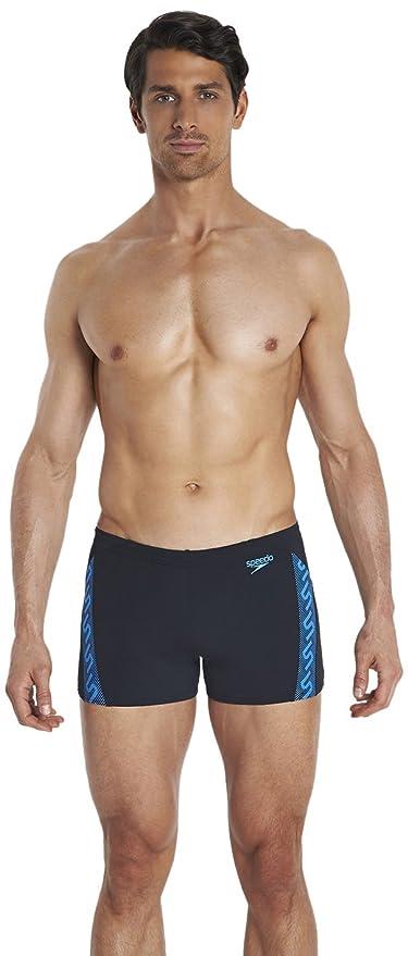 Speedo Aquashorts Monogram AM - Traje de baño  Amazon.es  Deportes y ... c1649edf3d9