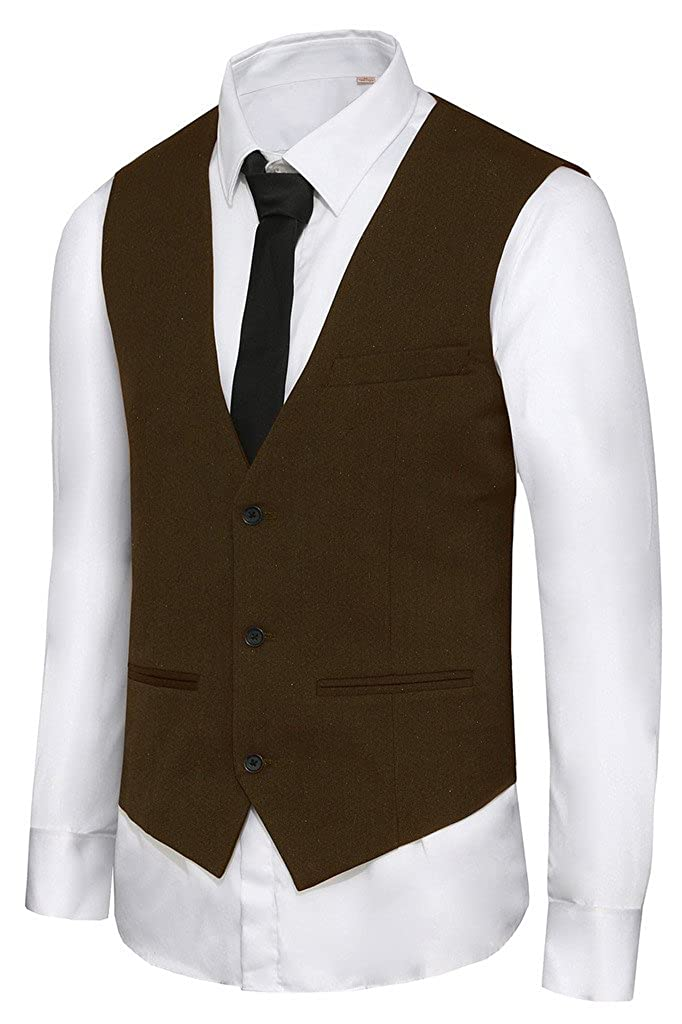 Hanayome Big Boys Baby Casual Formal Dress Tuxedo Wedding Vest VS10 VS10KD1