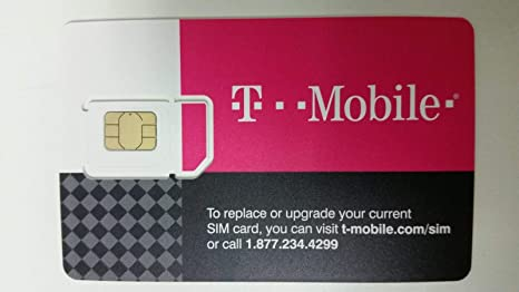 Amazon.com: T-Mobile Prepaid SIM Card Unlimited Talk, Text ...