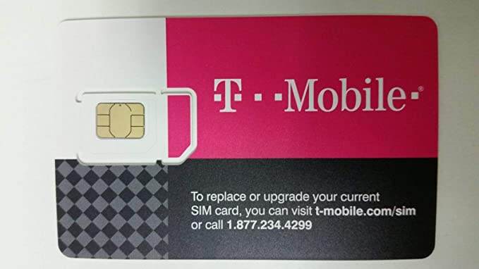 Visa Karte Prepaid.T Mobile Prepaid Sim Card Unlimited Talk Text And Data For 30 Days For Use In United States