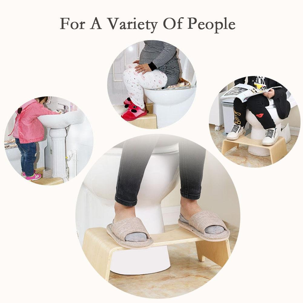blendivt Tabouret Physiologique pour Toilette Toilette Antid/érapantes Plate-Forme Asseyez-Vous /Étape Chaise Chaise Tabouret De Douche pour Femme Enceinte Personnes Ag/ées