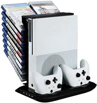 Juego de refrigerador profesional para ventilador y cargador de base y soporte de disco para XBOX ONE: Amazon.es: Electrónica