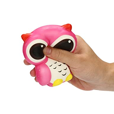 Amazon.com: Kiorc Adorable Búho Squishy lento aumento de ...