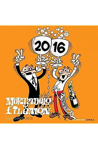 Calendario Mortadelo Y Filemón 2016