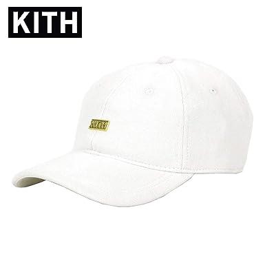 amazon キス kith 正規品 メンズ キャップ kith box logo fleece cap