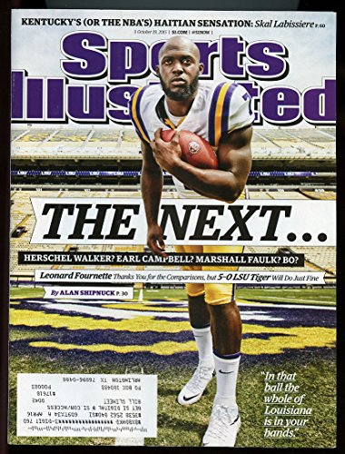 Si  Sports Illustrated October 19  2015 The Next   Leonard Fournette Lsu Cover