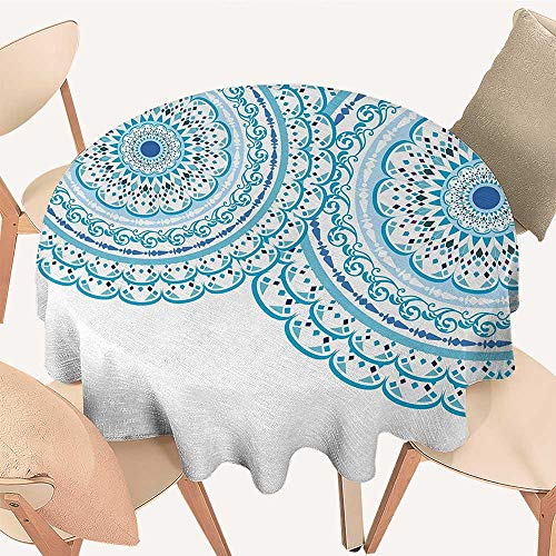 All of better Mandala Table Cover Wedding Invitation