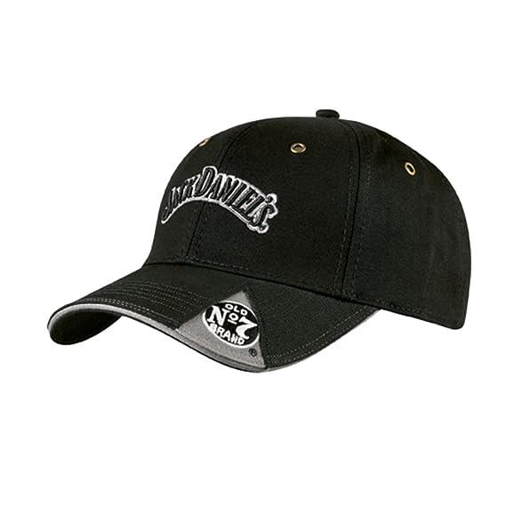 58c54d54 Jack Daniels Men's Daniel's Old No. 7 Cap Black One Size: Amazon.in:  Clothing & Accessories