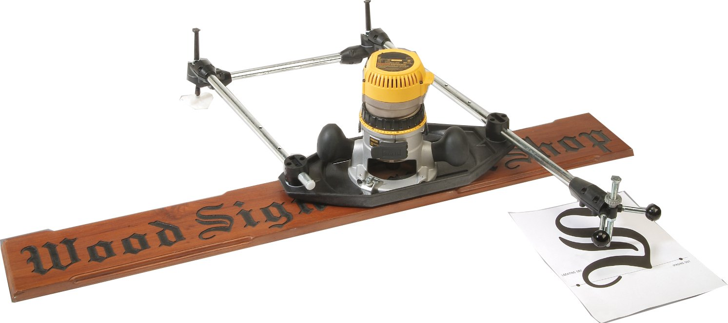 Milescraft 1298 3D-Pantograph Router Stencil Tracing Jig