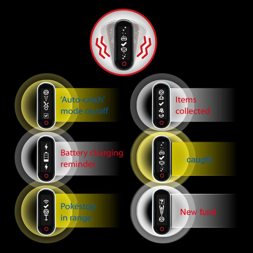 Elastizit/ät Silikon Magnetic Clip Halter Mcbazel Brook Pocket Auto Fangen Armband Armband schwarz Clip Verschluss Gurt f/ür Pokemon Go-tcha//Xiaomi Mi Band 1 /& 2 nur