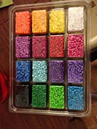perler fused bead tray 4000 pkg color
