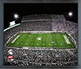 Spartan Stadium Michigan State Spartans NCAA Photo (Size: 17'' x 21'') Framed