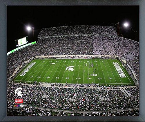 Spartan Stadium Michigan State Spartans NCAA Photo (Size: 17'' x 21'') Framed by NCAA