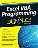 img - for Excel VBA Programming For Dummies book / textbook / text book