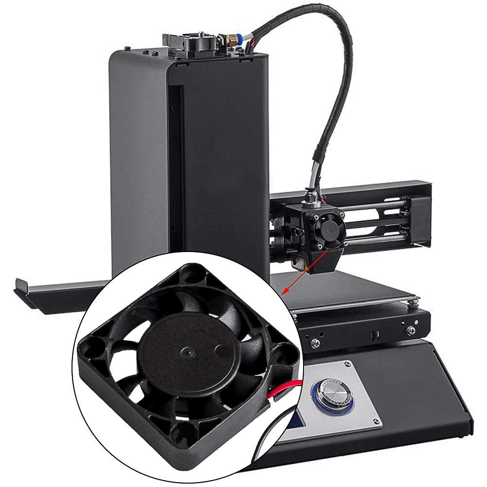 Electrely 5 Piezas Ventilador de Enfriamiento de la Impresora 3D ...