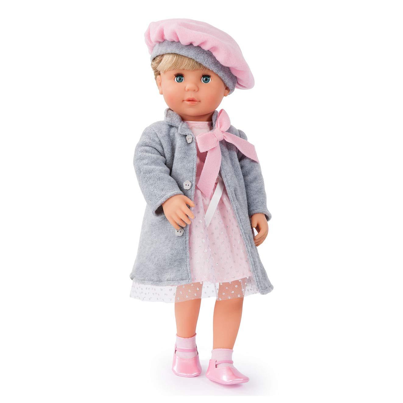 Bayer Design 94635 46cm Charlene Funktionspuppe mit Haaren und Schlafaugen günstig kaufen Babypuppen