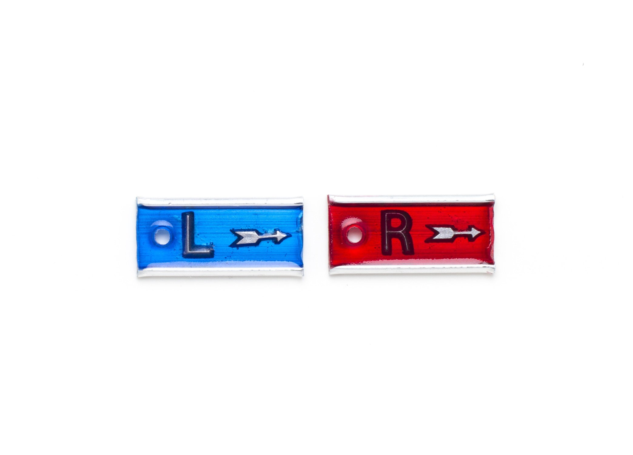 Leaded PB Markers for X-rays with Aluminum Back Arrows