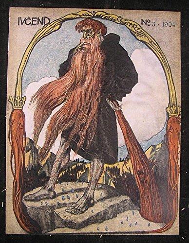 Jugend magazine 1904 Jugendstil Art Nouveau Engels Eichler Langhammer Schuller