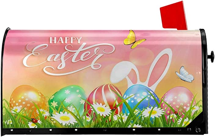 Easter Eggs Mailbox Cover Magnet