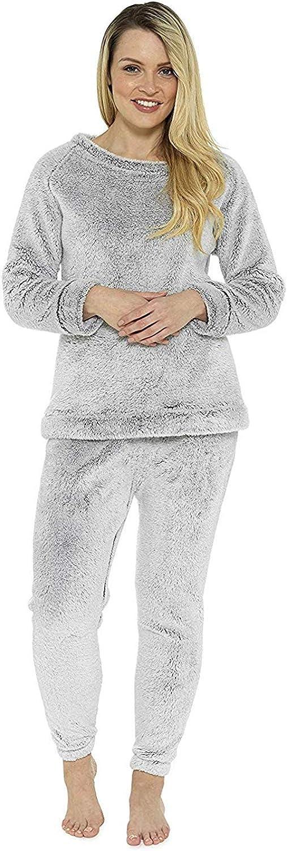 NeuFashion Felpa da donna in pile con zip e cappuccio