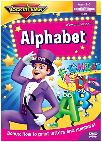 Rock N Learn: Alphabet (Movies That Start With The Letter R)