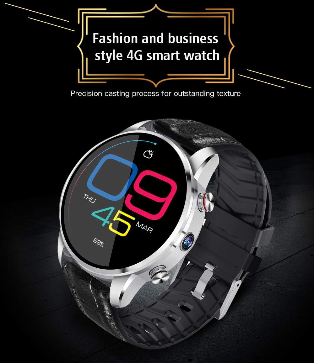 FYK&&SW Reloj Inteligente 4G Smart Watch Men 7.1 2MP Cámara 1GB + ...