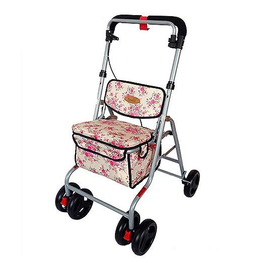 Carrito de Compras Old Man Trolley Silla de Ruedas Plegable ...