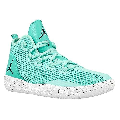 Nike Zapatillas de Baloncesto para Niños, Turquesa (Hyper Turq/Black-Hypr Jade-Wht), 36 EU: Amazon.es: Zapatos y complementos