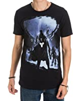 Destiny Video Game Logo Character Men's Black T-Shirt