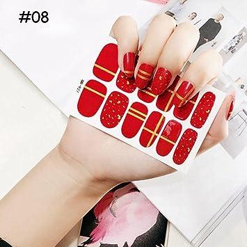 Amazon Hermosotodo Beauty Christmas Diy Nail Art Stickers