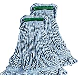 Rubbermaid Commercial Super Stitch Blend Large Mop Heads - Two (2) Pack
