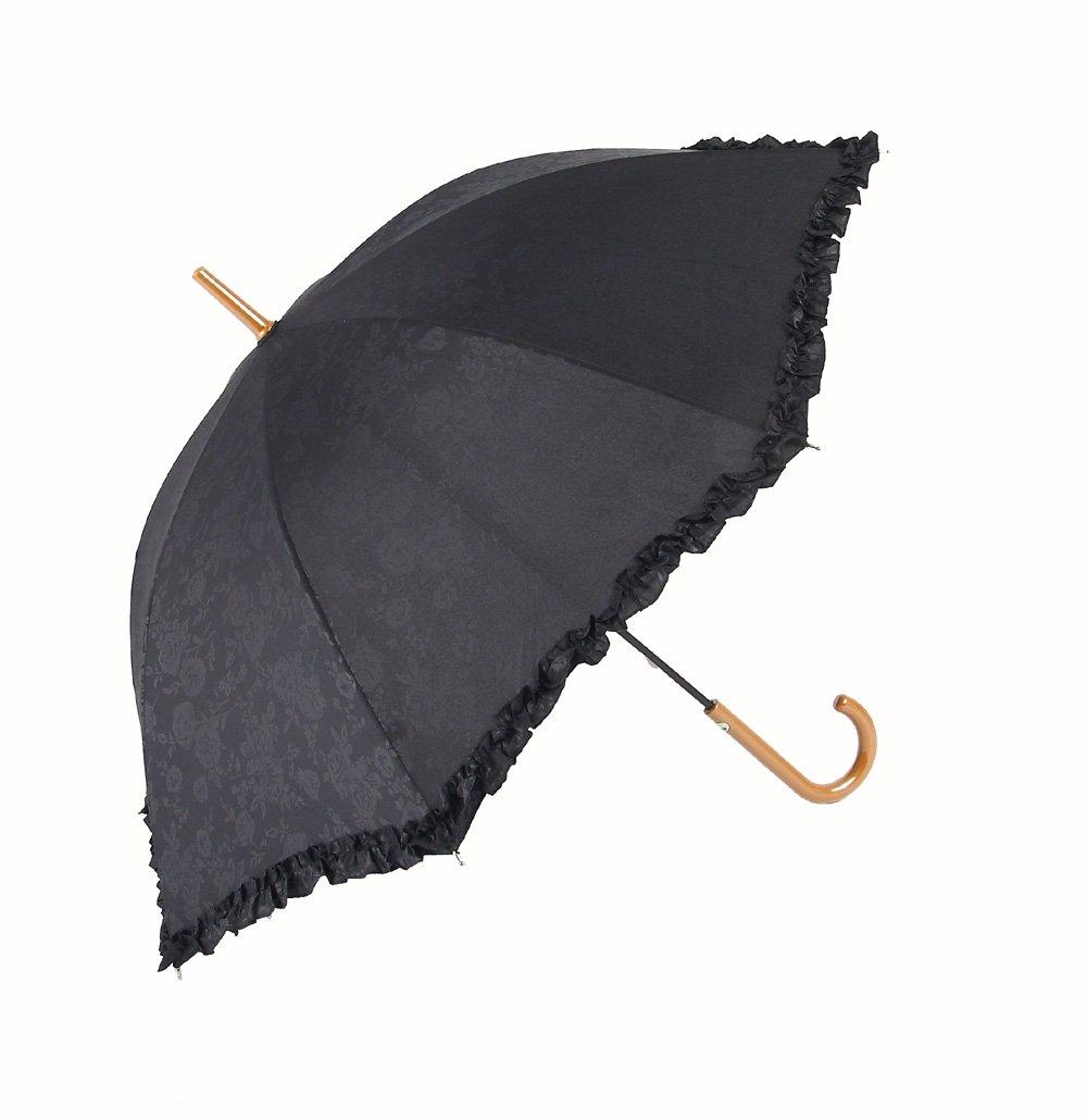 アテインの 晴雨兼用傘 エンボスフリル