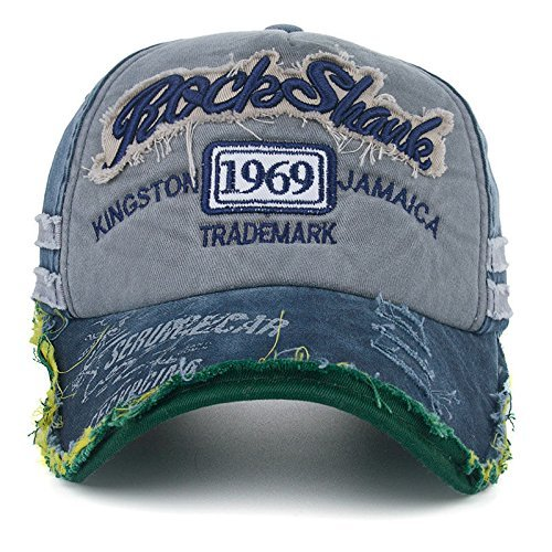 Handcuffs Unisex Denim Vintage Baseball Cap (Blue) Fan Shop at amazon