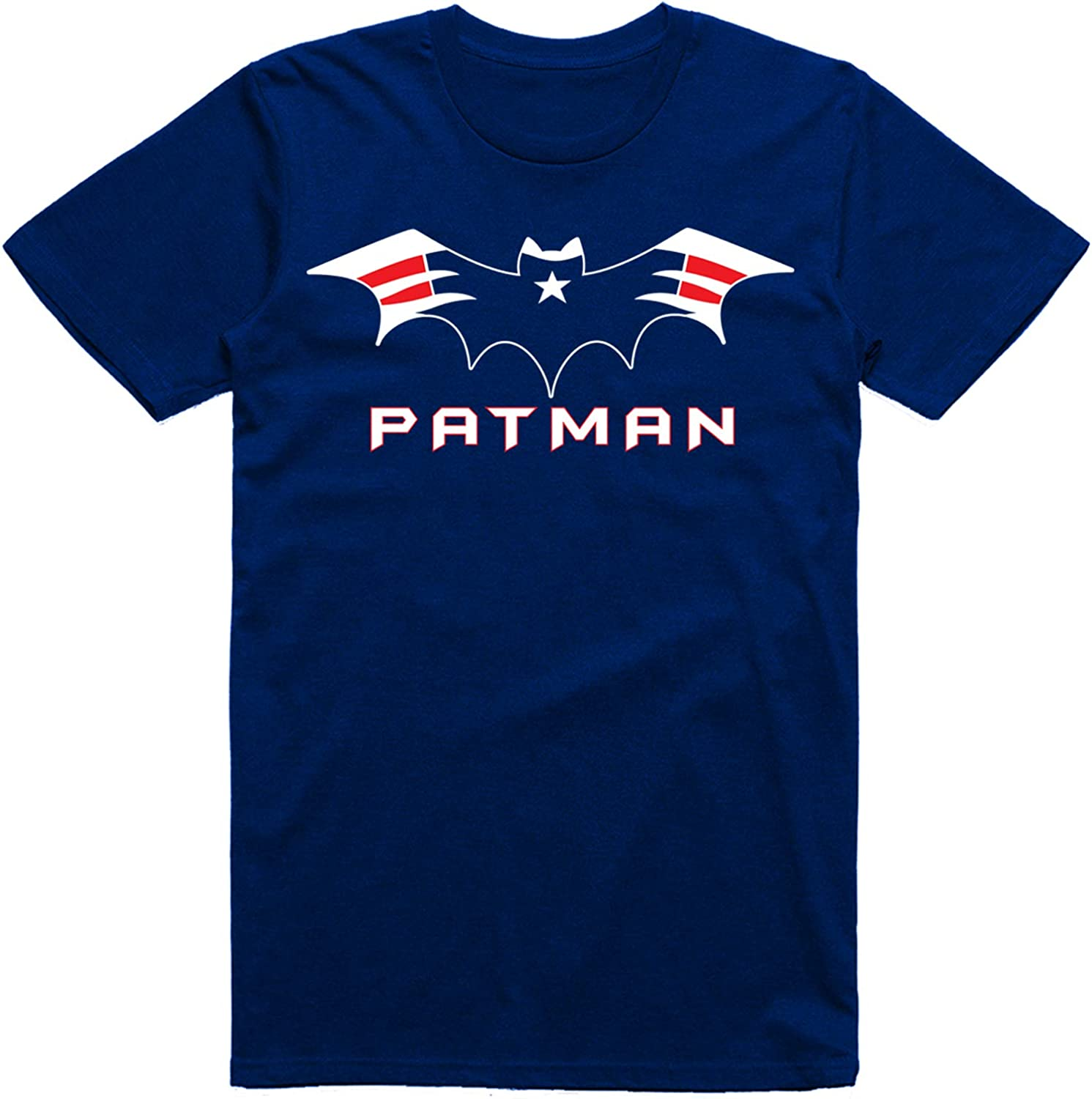 Vibeink New England Football Fans Bat Logo Patman Classic T-Shirt