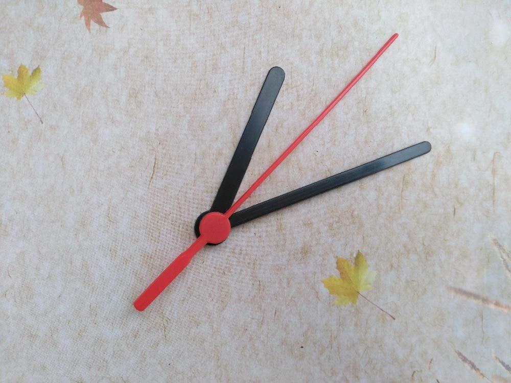 Maslin 100SETS Clock Quartz Plastic Arrows Clock Hands DIY Repair Desk Clock Accessories