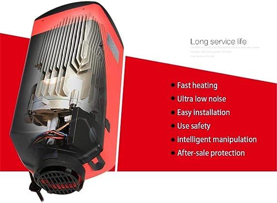 Euopat Auto Heizung 5000w 12v 24v Lcd Display Air Diesel Heizung Standheizung Für Vans Trucks Wohnmobile Wohnmobilanhänger Küche Haushalt